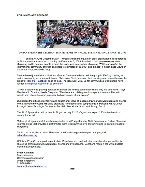 Press RELEASE 6 Dec 2014